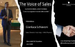 Intervista Gianluca Schiavoni Sales Directory HRA Pharma Hub Italy