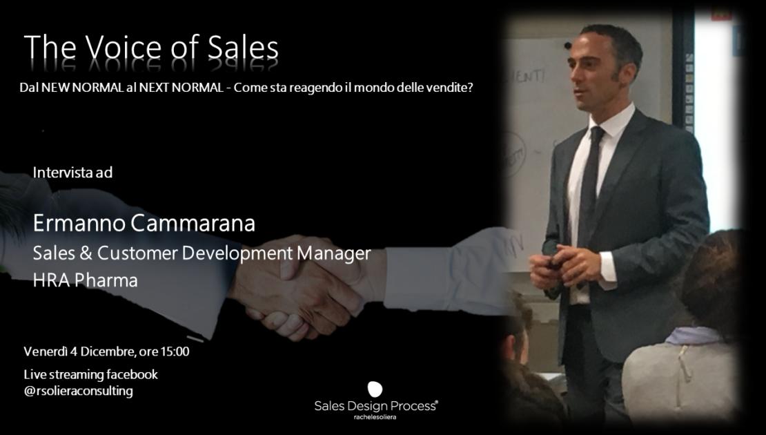 TheVoiceofSales intervista ad Ermanno Cammarana