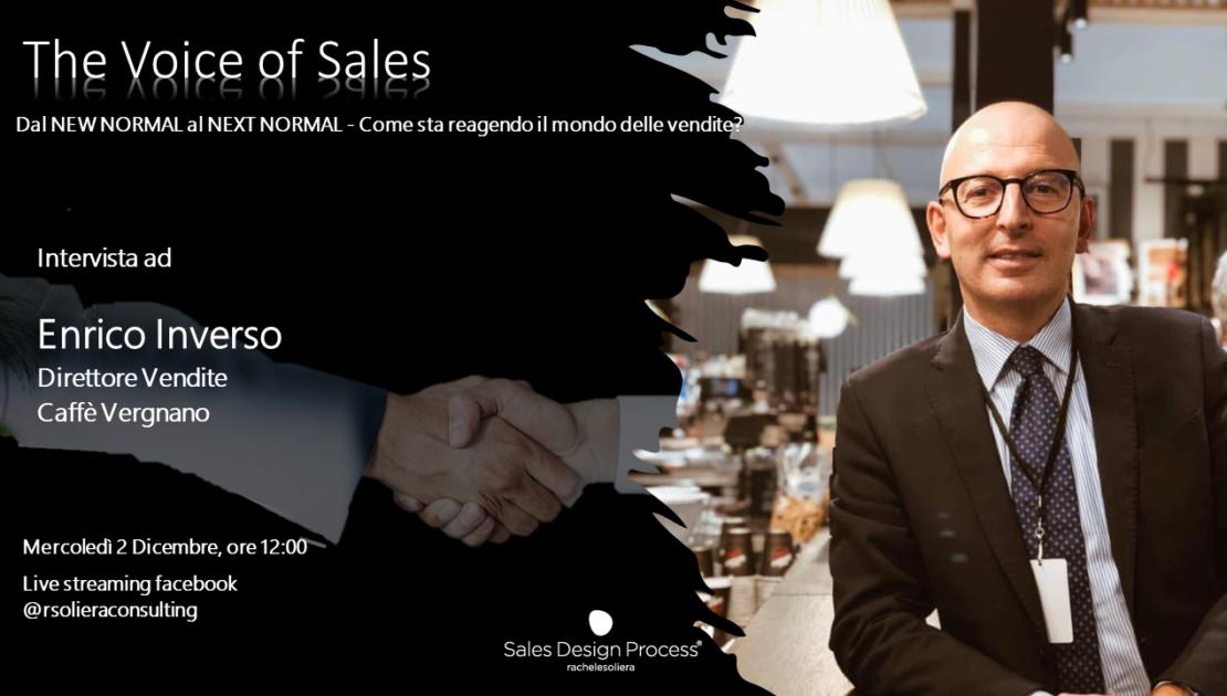 The Voice of Sales - intervista ad Enrico Invererso, Caffè Vergnano