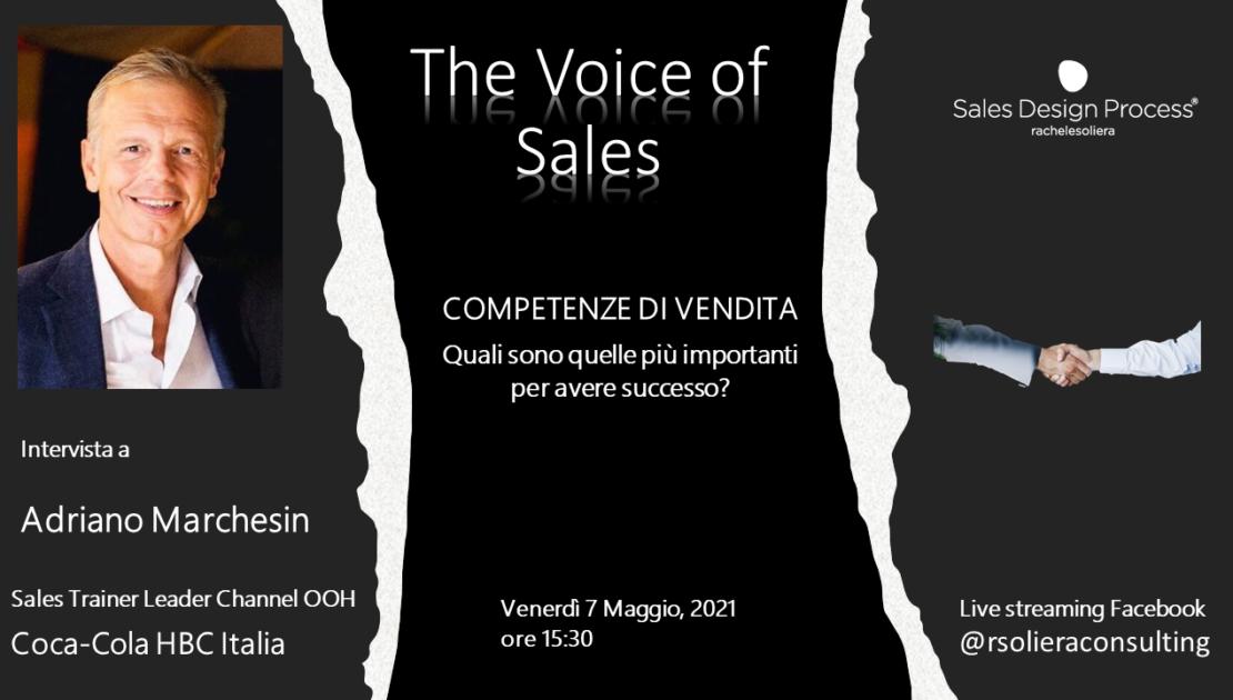 The Voice of Sales Intervista Adriano Marchesin - Coca Cola